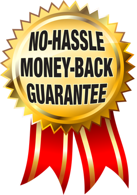 No Hassle Installation replacement money back guarantee